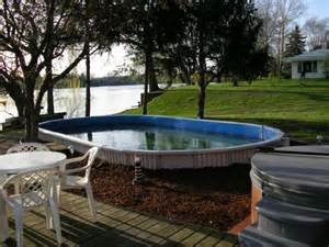 Free Deck Plans For Above Ground Pool by Aquasport
