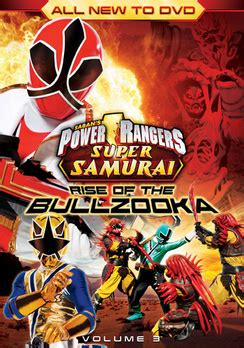 Power Rangers Samurai: Rise of the Bullzooka Volume 3 (DVD ...