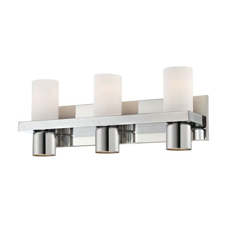 eurofase pillar collection  light chrome bath bar light