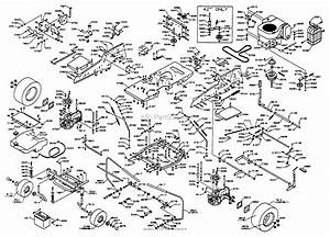 Dixon Ztr 4515b  1998  Parts Diagram For Chassis