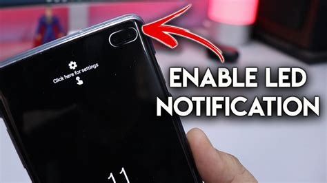 enable led notification light  galaxy   punch