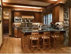 Rustic Kitchen Designs by Rustic Italian Kitchen Designs For Warm And Soft Ambiance With Stone Wall
