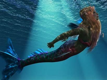 Mermaid Sea Ocean Corey Ford Painting Mermaids