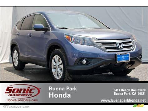 2012 Twilight Blue Metallic Honda Cr-v Ex #66487729