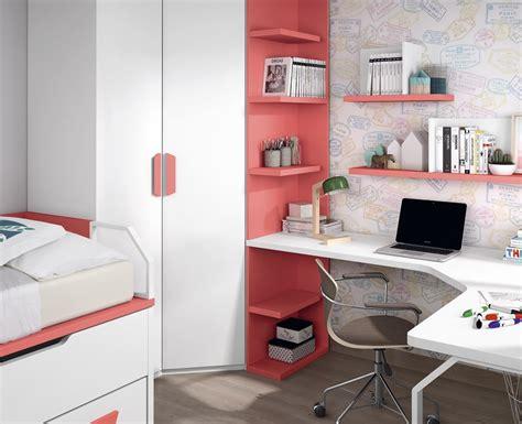 bureau avec etageres bureau ado avec étagères sur mesure meubles ros