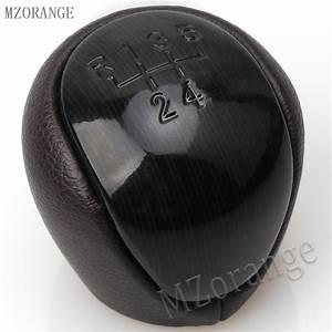 Mzorange 5 Speed Black Leather Manual Transmission Gear