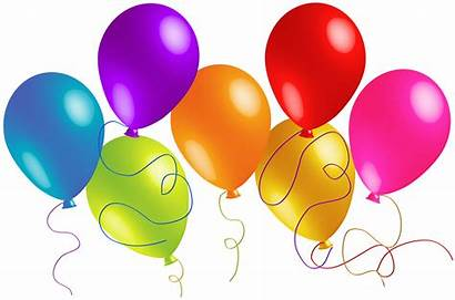 Balloons Transparent Clipart Colorful Yopriceville