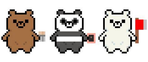 We Bare Bears Pixel Art