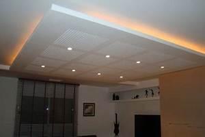 Comment Faire Un Faux Plafond : les faux plafonds ou le plafond suspendu bati info l ~ Melissatoandfro.com Idées de Décoration