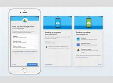 iOS users can now use Google Drive to migrate to Android