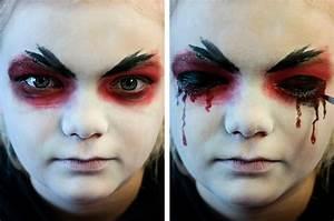 Gruselige Hexe Schminken : vampir gesichter schminken ~ Frokenaadalensverden.com Haus und Dekorationen