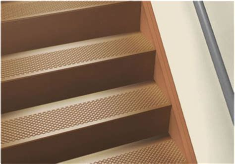 Roppe® Rubber Stair Tread Non Slip Diamond Design.   Stair