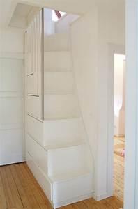 Schöner Wohnen Treppenhaus : treppen von traditionell bis modern platzsparende bodentreppe anbau sch ner wohnen und wohnen ~ Markanthonyermac.com Haus und Dekorationen