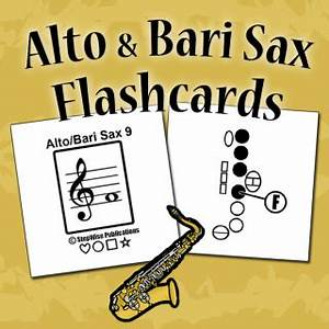 Saxophone Chart Pdf How To Play Alto Saxophone Stepwise Publications
