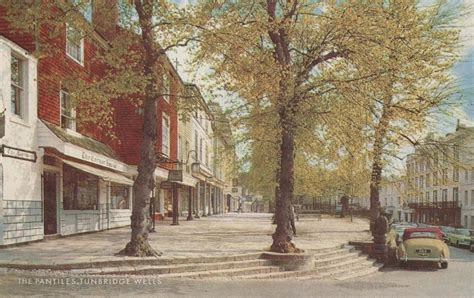 Kent, Tunbridge Wells, The Pantiles