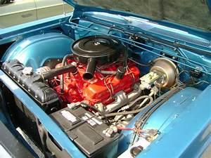 1968 Plymouth Fury Engine Bay