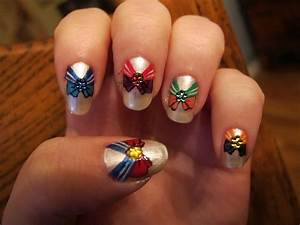 Sailor Moon Nail Art by WimskryBee on DeviantArt