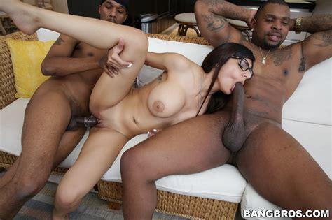 Mia Khalifa Fucking Two Horny Black Guys My Pornstar Book