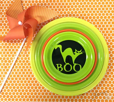 Custom Art Halloween Entertaining Serveware
