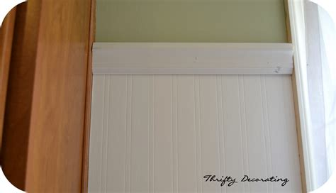 Beadboard Contact Paper : Thrifty Decorating