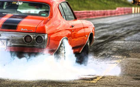 muscle car burnouts video