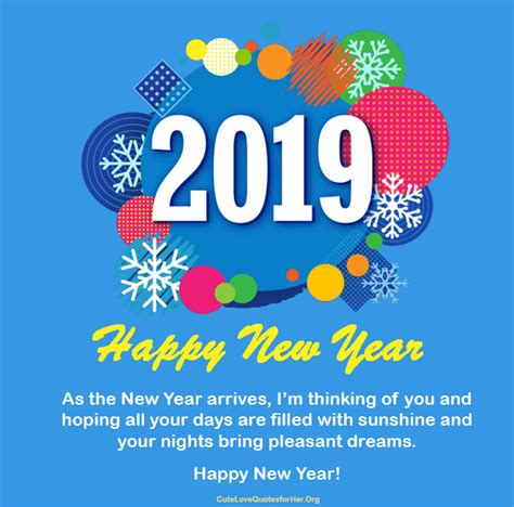 Happy New Year Quotes And Images Top 20 Happy New Year 2019 Images And Quotes For