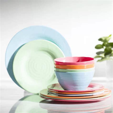 dinnerware sets melamine wayfair courtesy