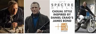 Bond Spectre James Casual Daniel Craig Budget