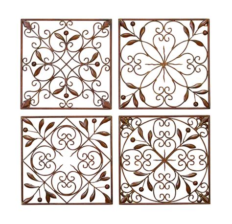 Artisan Scroll Wrought Iron Wall Grilles Set Of 4. Artscape Decorative Window Film. Wine Home Decor. Decorative Gutter Downspout. Glass Dining Room Table Sets