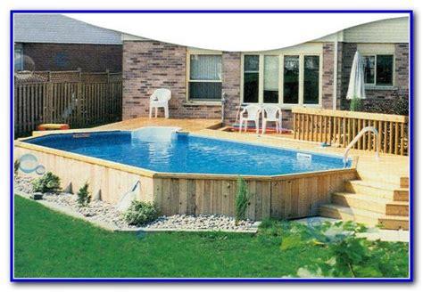 Rectangular Above Ground Pools With Decks