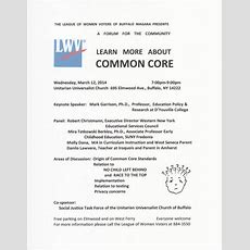 Upcoming Event Learn More About The Common Core  Mark Garrison