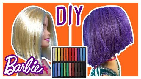 How To Dye Barbie Doll Hair