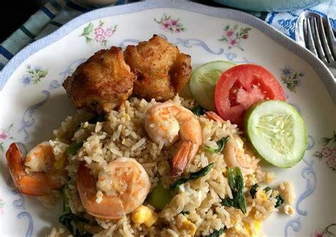 Nasi goreng menjadi salah satu menu masakan andalan berasal dari indonesia. Resep Nasi Goreng Thai Udang oleh Cooking with Sheila - Cookpad