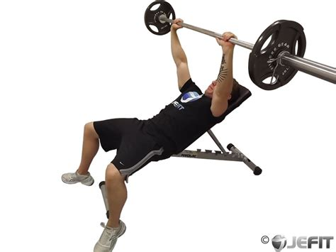 barbell bench press barbell incline bench press exercise database jefit