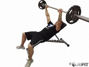 Barbell Incline Bench Press - Exercise Database | Jefit ...