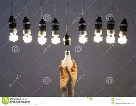 replacing light bulb stock photo image 5112370