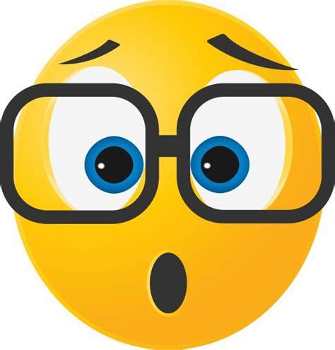 Surprised Face Emoticon