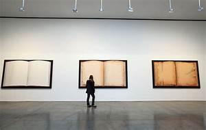 Ed Ruscha At Gagosian Gallery In Chelsea