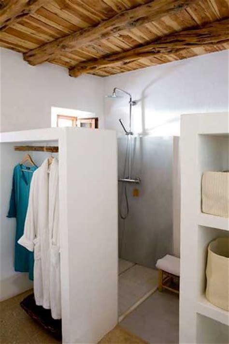 salle de bains rangement cloison dressing deco