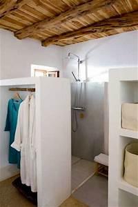 petite salle de bains rangement cloison dressing deco With cloison pour salle de bain
