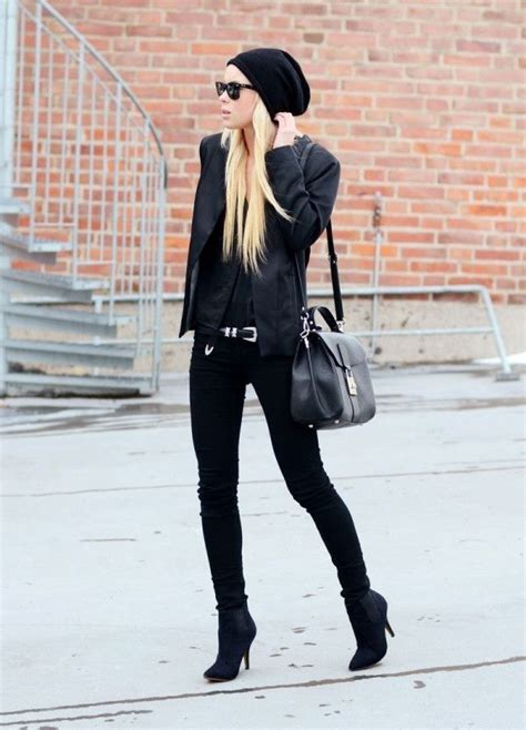 Black Winter Outfit Pictures Photos and Images for Facebook Tumblr Pinterest and Twitter