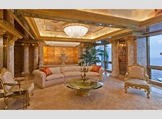Inside Donald Trump's $100million Penthouse in New York
