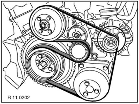 Need The Diagram For Alternator Belt Bmw Diesel Fixya
