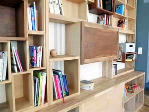 Bibliothque Sur Mesure Fabrique L39atelier De LaRefabrique