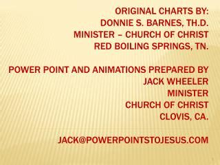 Donnie Barnes Bible Charts by Ppt The Point Resurse Si Instrumente Lingvistice