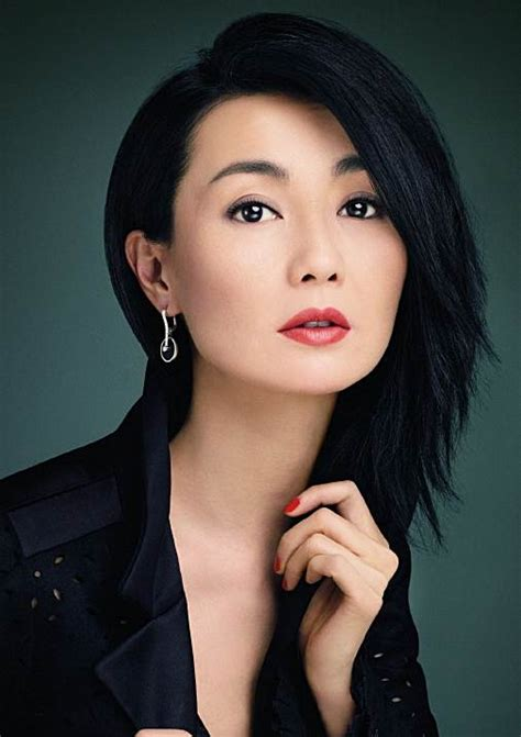 maggie cheungs choppy side swept hairstyle party