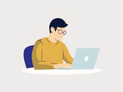 Working Animation Computer Animations Wifi Icon Dribbble