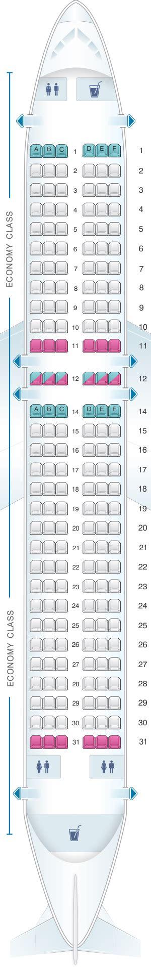 plan de cabine vueling airbus a320 seatmaestro fr