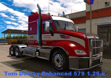 ats tom dooley enhanced 579 truck 1 29 x truck simulator mods