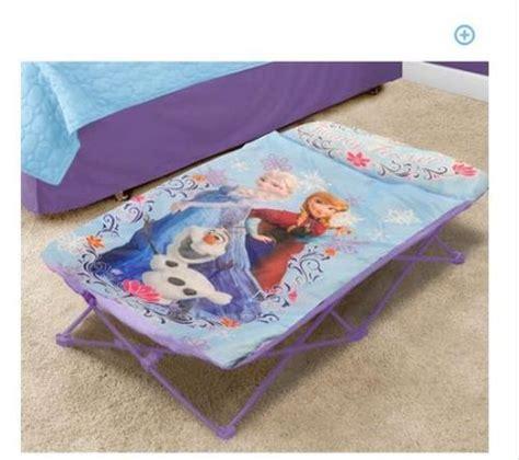 disneys frozen olaf camping  folding bed guest girls